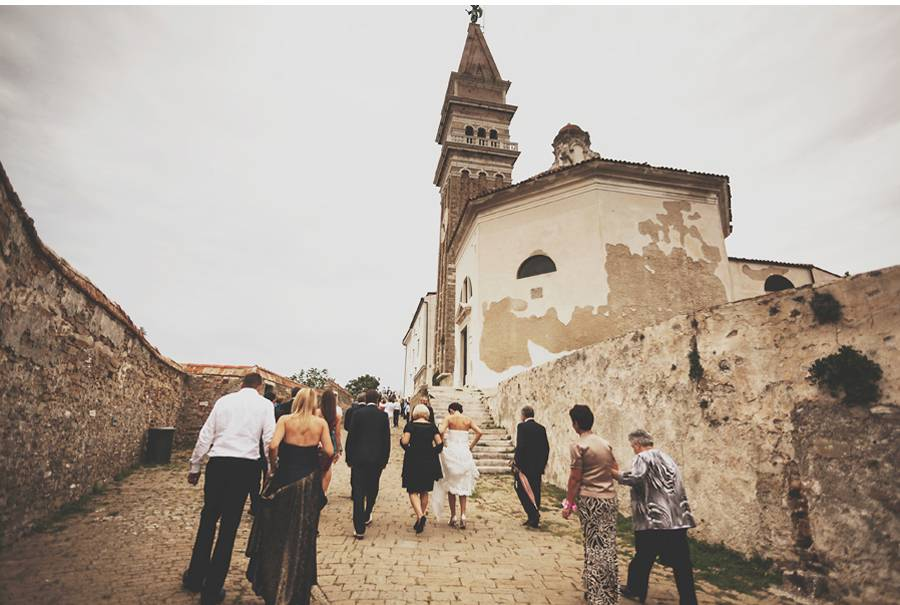 Wedding in Piran, Slovenija